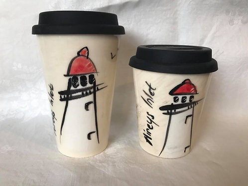 Aireys Inlet Lighthouse Travel Mugs