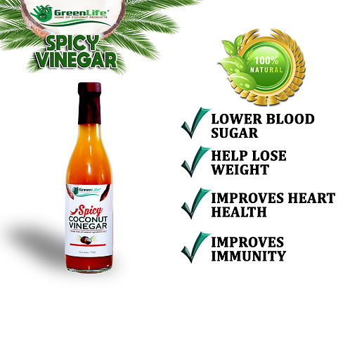 Spicy Coconut Vinegar 375ml