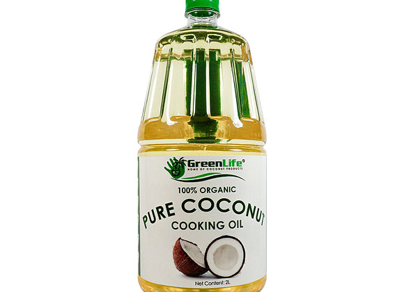 Organic Pure Coconut Cooking Oil 2000ml