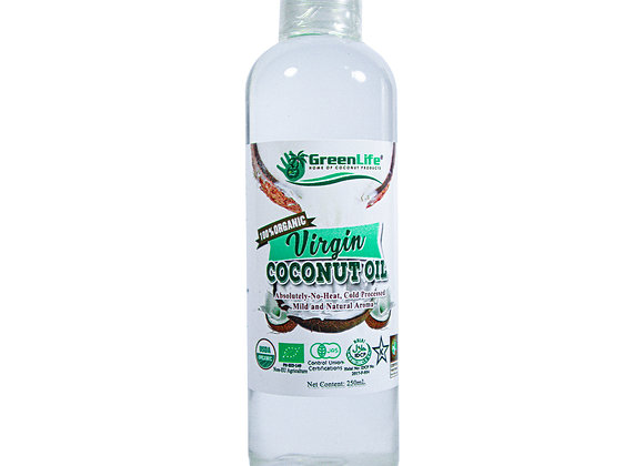 Organic Virgin Coconut Oil 250ml