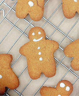 Coconut Gingerbread Cookies