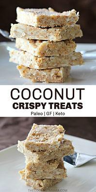No-Bake Coconut Crispy Treats