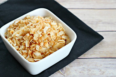 Coconut Chips – Sweet and Salty Toasted Coconut