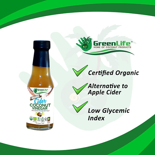 Organic Coconut Cider Vinegar 150ml