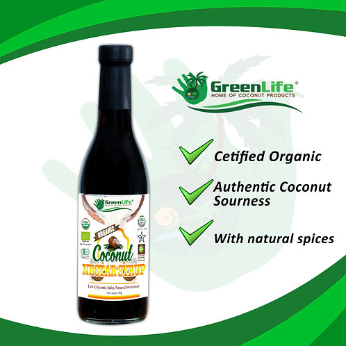 Organic Coconut Nectar Syrup 500g