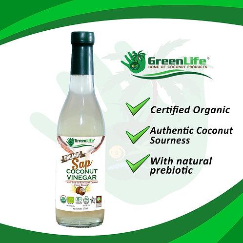 Organic Coconut Sap Vinegar 375ml
