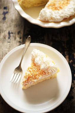 Keto Coconut Cream Pie