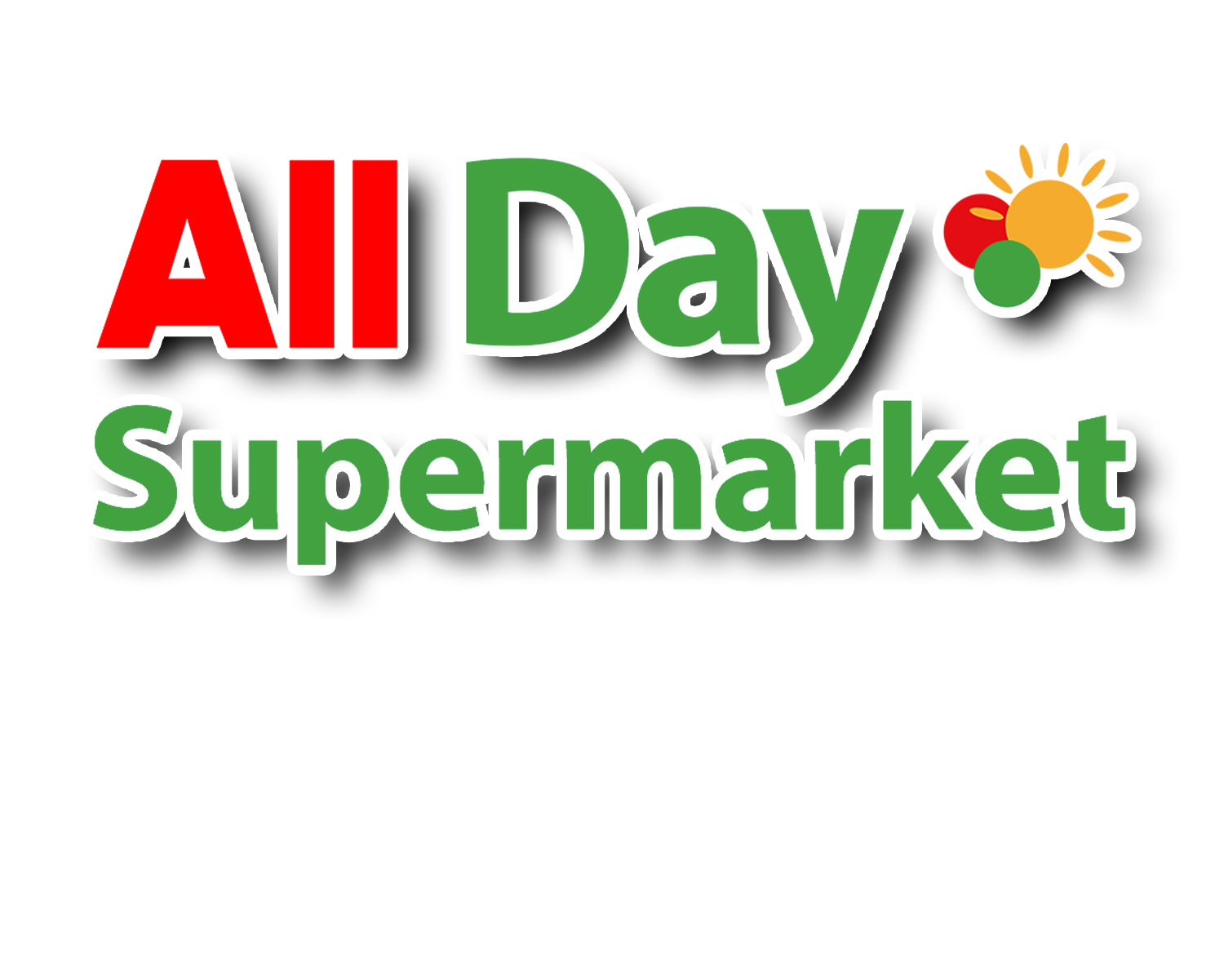 All Day Supermarket Logo