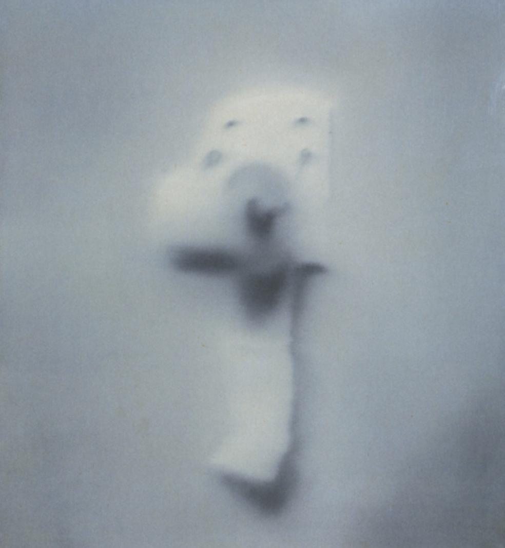 Gerhard Richter - Klorolle - Toilet Paper - Oil on Canvas - 1965