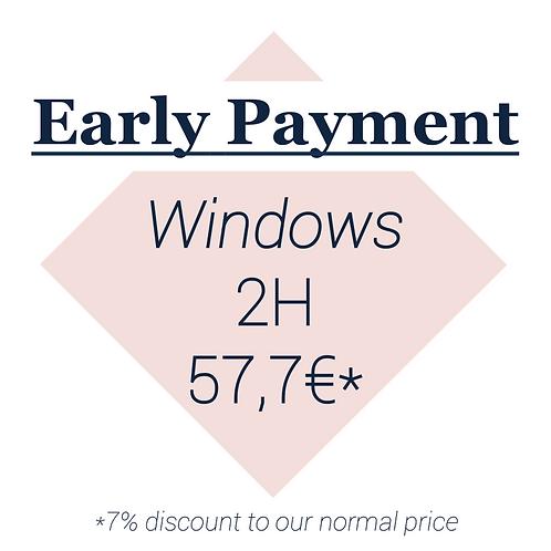 Windows 2H