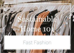 Sustainable Home 101 - Fast Fashion: Low Price, Hefty Cost