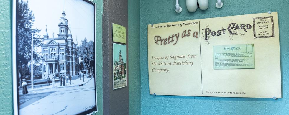Pretty as a Postcard Exhibit