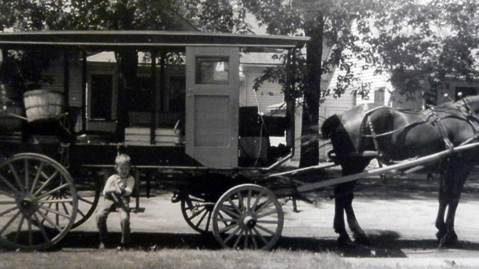 Huckster Wagon Exhibit