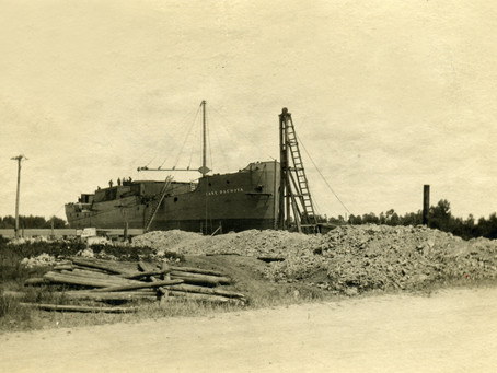 Saginaw Shipbuilding Company Supports WWI