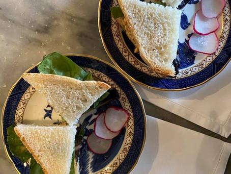 Tanner's Tearoom Chopped Peanut Sandwiches
