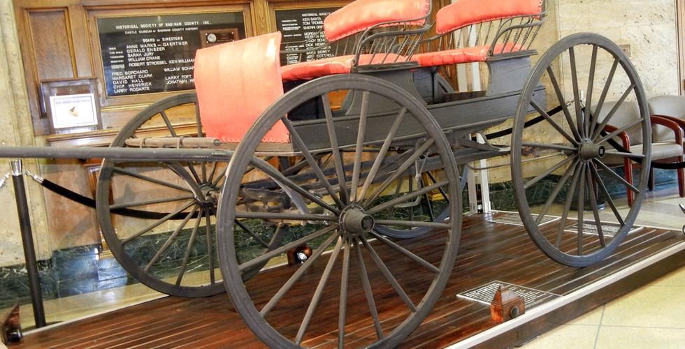 Saginaw Carriage Works Exhibit
