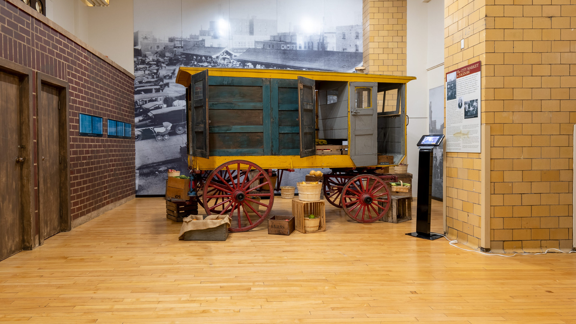 Huckster Wagon Exhibit