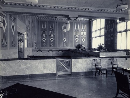 A Modern Interior on South Jefferson Avenue, March 25, 1931