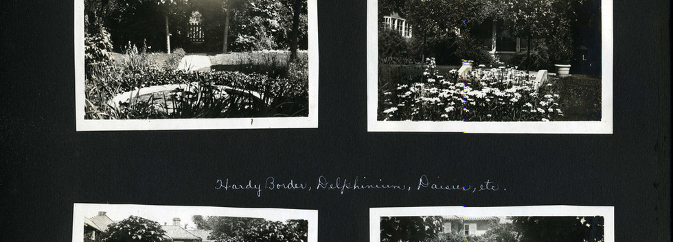 Mrs. Chas. McClure's garden