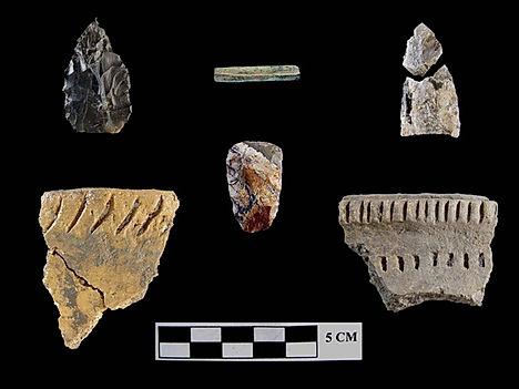 Clunie Site artifacts.jpg