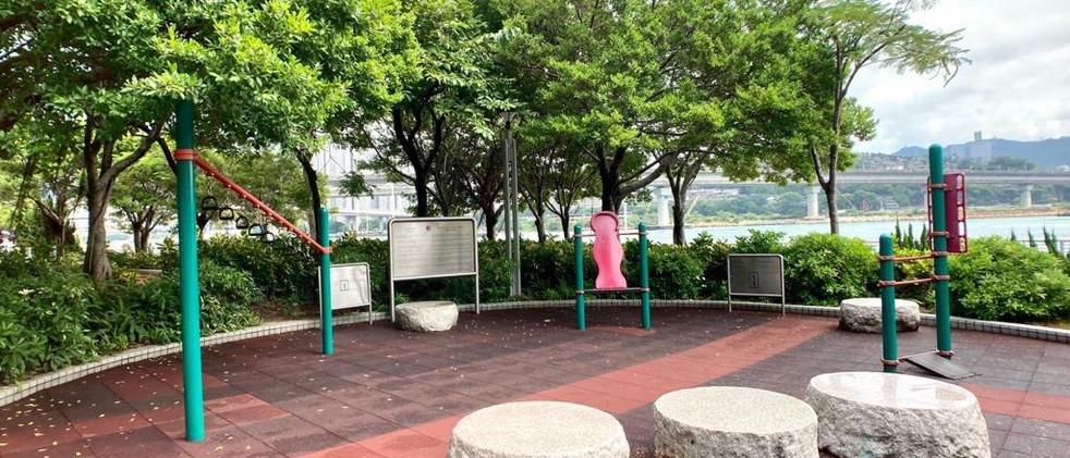 青衣海濱公園康體設施2