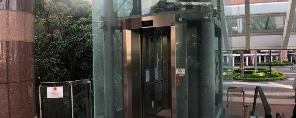 灝景灣屋苑電梯