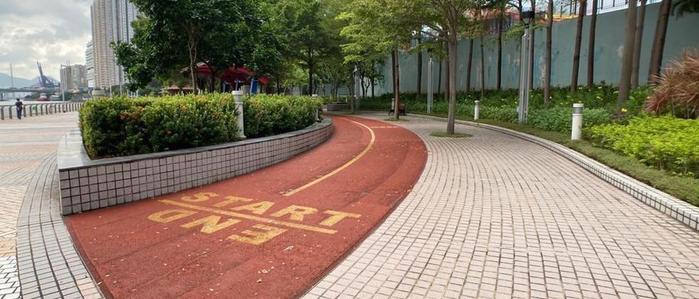 青衣海濱公園緩跑徑