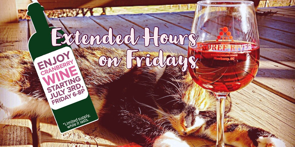 Extended Hours on Fridays
