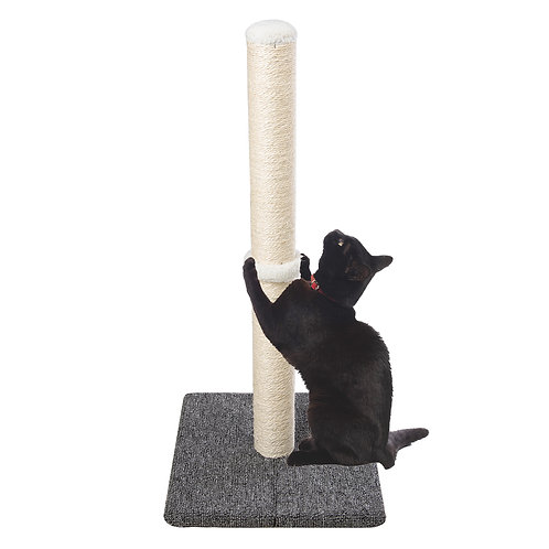 74 cm Tall Sisal Cat Scratching Post with Carpet Covered