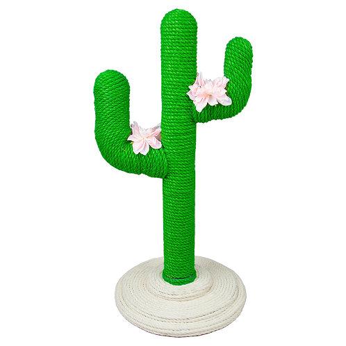 78 cm Tall Cat Cactus Natural Sisal Rope Activity Tree