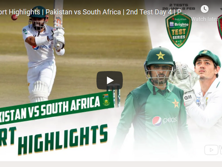 پاکستان اور جنوبی افریقہ کے درمیان دوسرا ٹیسٹ میچ ،پاکستان کے لئے مشکلات بڑھ گئی
