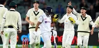 بھارت کو آسٹریلیا کے ہاتھوں پہلے ٹیسٹ میچ میں  شرمناک شکست