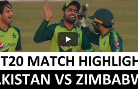 پاکستان نے زمبابوے کو آخری ٹی 20 میچ میں 8 وکٹوں سے شکست دے کر سیریز 0-3 سے اپنے نام کرلی