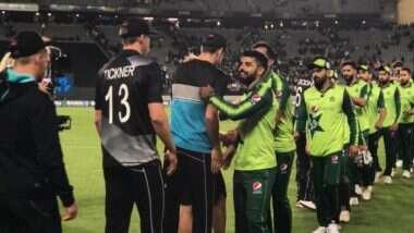 نیوزی لینڈ کے خلاف تیسرے ٹی ٹوئنٹی میچ کے لیے قومی ٹیم میں تبدیلیو ں کا امکان
