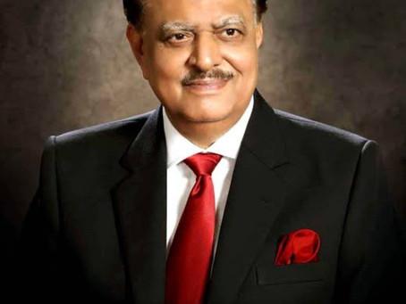 سابق صدر ممنون حسین علالت کے باعث انتقال کرگئے۔