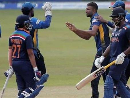 بھارتی کھلاڑی کا کورونا ٹیسٹ مثبت ! سری لنکا اور بھارت کا دوسرا ٹی ٹوئنٹی ملتوی