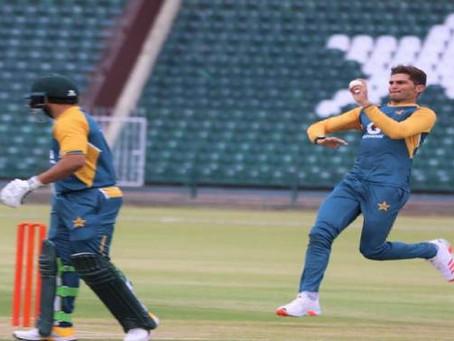 زمبابوے کے خلاف دوسرے ٹیسٹ میچ کے دوران پاکستانی باؤلرز نے تاریخ رقم کردی