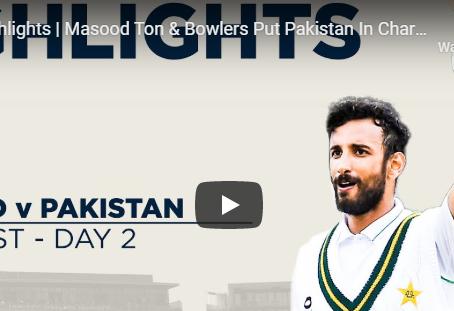 مانچسٹر ٹیسٹ ،پاکستان کی پوزیشن مضبوط ہو گئی.