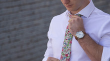How to take care of your new Floral Tie!