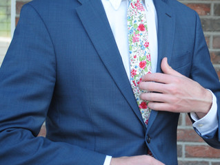 The Floral Tie Trend