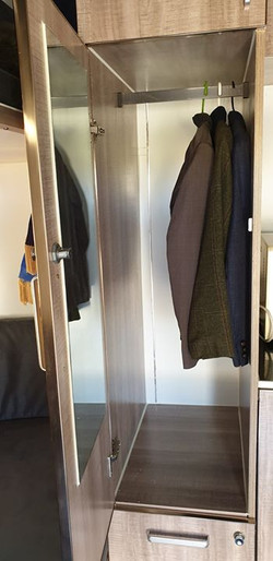 Tall hanging cupboard