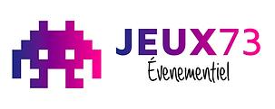 logo JEUX 73 Evenement location borne arcade flipper babyfoot billard
