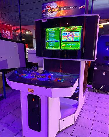 JEUX 73 location borne arcade Evenement 300 jeux retrogaming animation originale