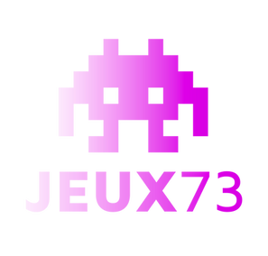 Logo JEUX 73 reparation flipper billard borne arcade