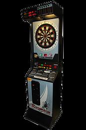 borne arcade flechette