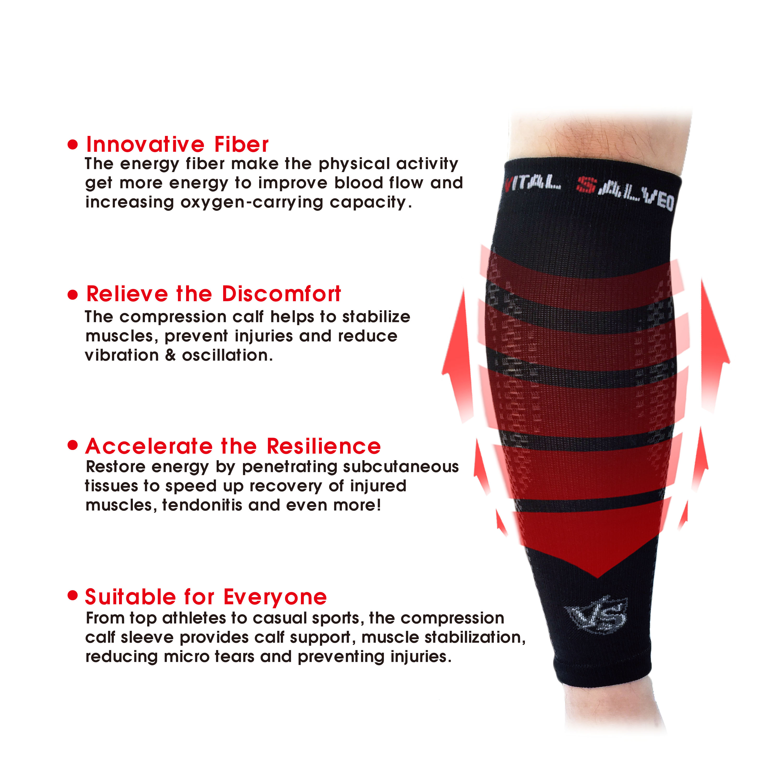 Compression Calf/Shin Sleeves (Pair)
