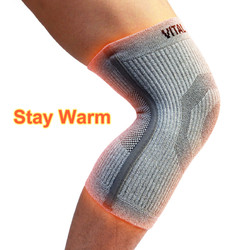 3D Knit Knee Sleeve/Brace ST3-THICK Stay Warm