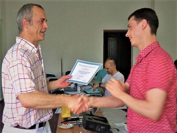 Обучение в Институте Апледжера, Москва.
