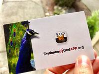 Evidence Of God App Card