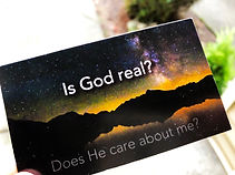 is God real card